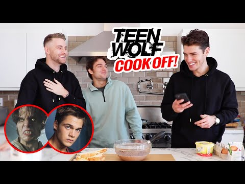 Teen Wolf Cook-Off! (w/ Dylan Sprayberry) | Gregg Sulkin and Cameron Fuller