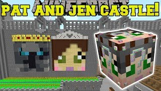 Minecraft: PAT & JEN CASTLE HUNGER GAMES - Lucky Block Mod - Modded Mini-Game