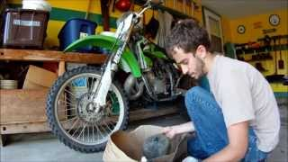 5. How To Clean and Oil 2004 Kawasaki KX125 Air filter