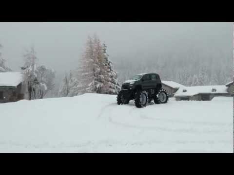 2013 Fiat Panda 4x4 Monster Truck