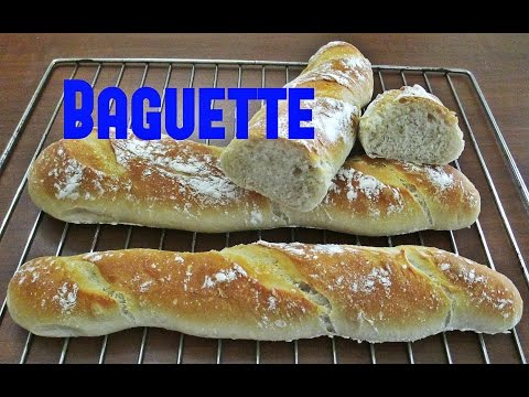 il pane con il bimby: la baguette - ricetta