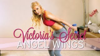 How to Get Arms Like a Victoria's Secret Model - YouTube