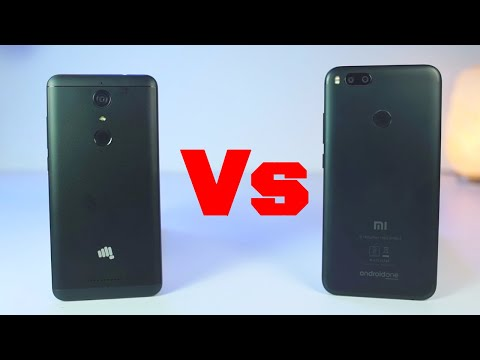 Micromax Canvas Infinity vs Mi A1 Speed Test