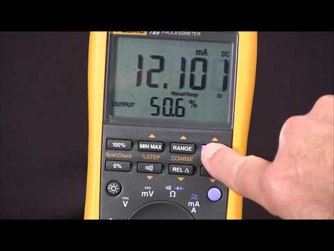 How To Source 4-20 Miliamps Using The Fluke 789 ProcessMeter