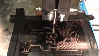 Making PCB with 3D printer and permanent marker