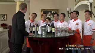 Top 8 Đầu Bếp Đỉnh Thử Rượu Vang Rupert&Rothschild Lừng Danh Thế Giới