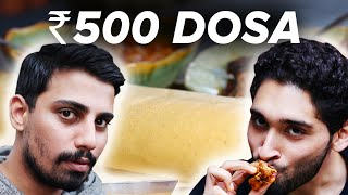 Video ₹50 Dosa Vs ₹500 Dosa MP3, 3GP, MP4, WEBM, AVI, FLV Oktober 2018