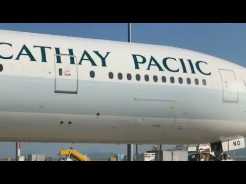 Cathay Paciic statt Cathay Pacific: Airline schreib ...