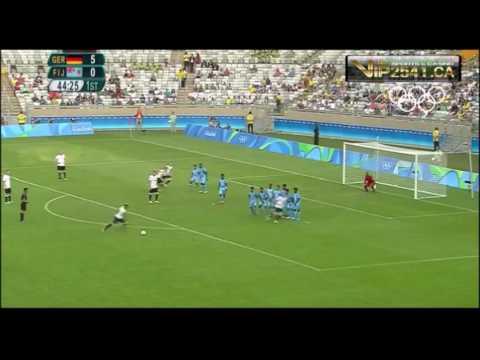 [ไฮไลท์]เยอรมัน 10-0 ฟิจิโอลิมปิก 2016