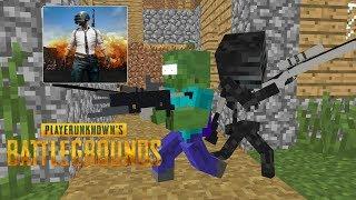 Video Monster School: Player Unknown Battlegrounds (PUBG) Challenge- Minecraft Animation MP3, 3GP, MP4, WEBM, AVI, FLV Mei 2019