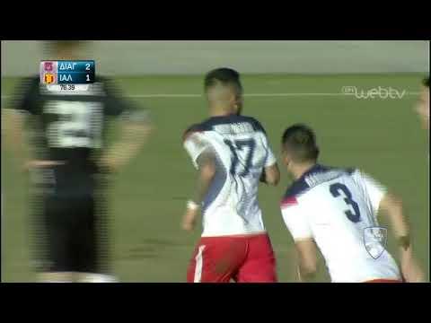 Football League:  ΔΙΑΓΟΡΑΣ ΡΟΔΟΥ – ΙΑΛΥΣΟΣ     ΓΚΟΛ 3-1   09/02/2020   ΕΡΤ