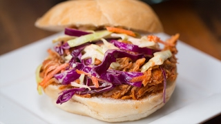 Slow-Cooker BBQ Pulled Chicken, 4 Dishes by Tasty