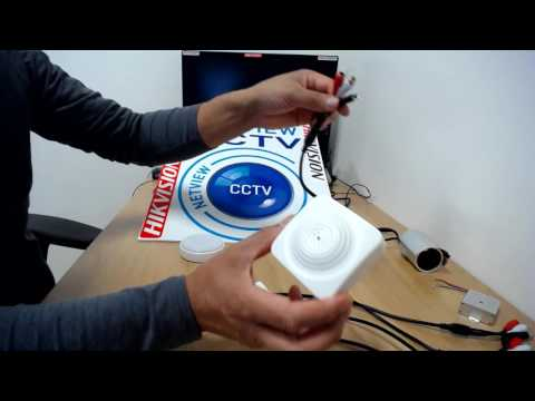 NetviewCCTV.co.uk Range of CCTV Microphones, to add audio to your DVR