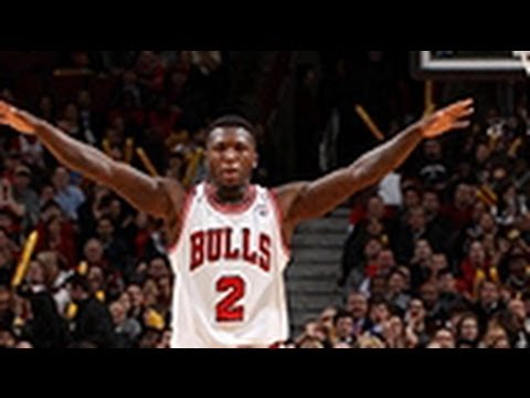 Nate Robinson Dunks On Trail Blazers