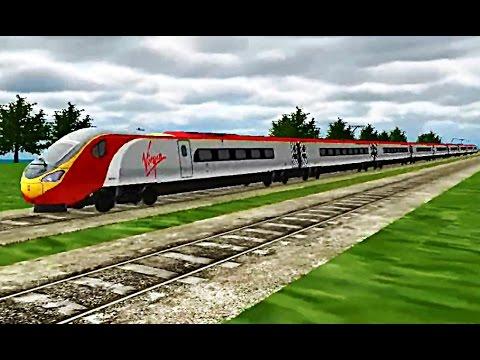 Train Sim - Southern England Using 390 Pendolino - Simulasi Kereta Api (Android Game)