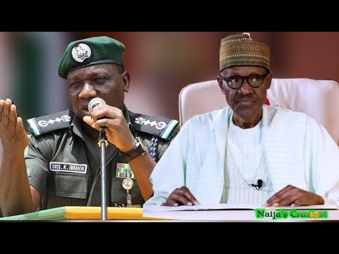 President Buhari Reacts To IGP Transmission Speech Fail