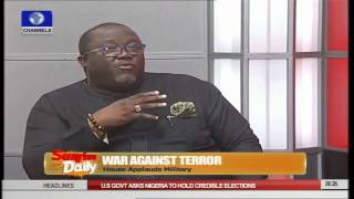 Boko Haram: PDP Member Explains Why President Slowed Down Pt.2