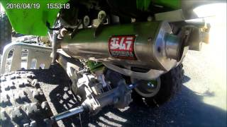 6. kawasaki kfx 700 walk around