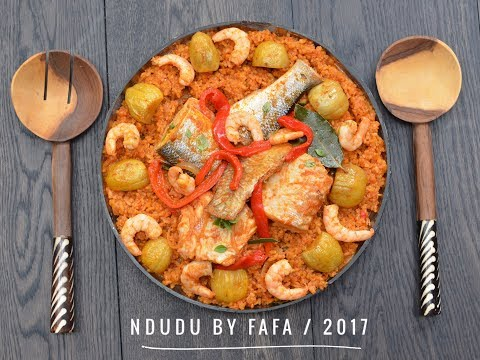 THE PERFECT SEAFOOD RISOTTO  JOLLOF (THIEBOUDIENNE)