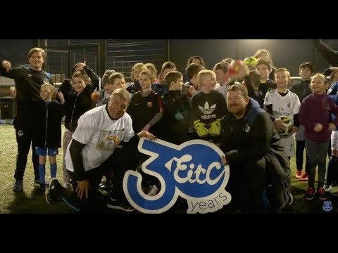 Video: EITC30: ALLARDYCE VISITS JAMES GREENOP FOUNDATION