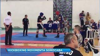 Campeonato de Kickboxing reúne lutadores de todo o Estado em Sorocaba