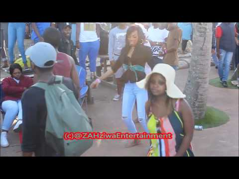 Distruction Boyz - Madness  (Hayi Haybo) Tipcee Dance Moves At Dubane Spring Break