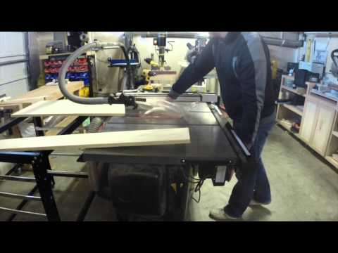 Rockler Shop Stand Outfeed Table