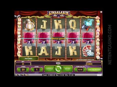 Simsalabim™ Video Slot by Netent Casino (Net Entertainment Software)
