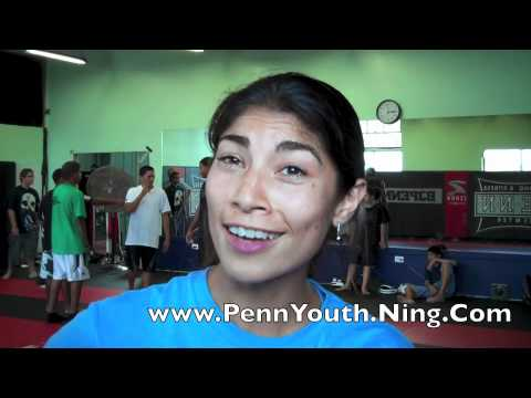 speak about bjpenn - Tom Callos teaches the Penn Hawaii Youth Foundation Kids. October of 2010, BJ Penn's Academy, Hilo, Hawaii.