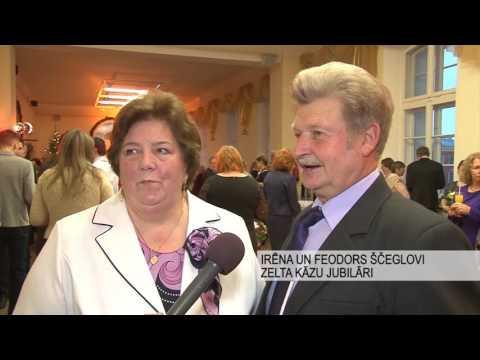 Godināti apaļo kāzu gadadienu jubilāri Jelgavas novadā