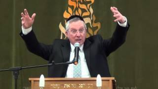 """הרב מרדכי דוד נויגרשל – פרשת יתרו (ה'תשע""""ד)"""