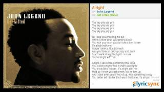 John Legend - Alright