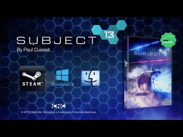 Видео к игре Subject 13