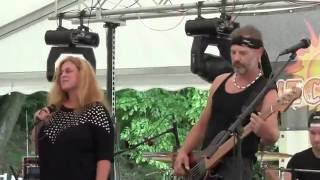 Video NICE NAVELS - Těžkej den (část) /Tanec Slnka/ 30.7.2016