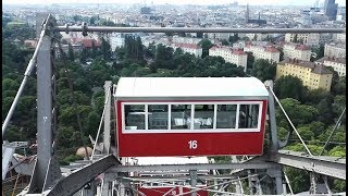 Zeitraffer-Video von der Fahrt mit dem Riesenrad auf dem Wiener Prater im Juni 2017.  A timelapse video of the ride with the Vienna Prater Ferris Wheel in June 2017.