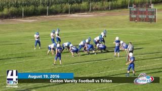 Caston Varsity Football vs Triton Trojans