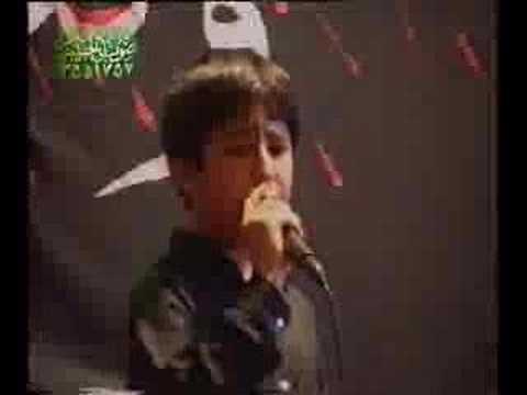Haj Mahmood Karimi / taheri  child very nice -  hussein