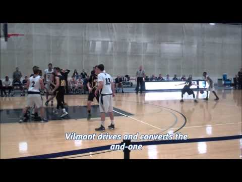 Brandeis men's basketball vs. Framingham State, 12/4/14 Highlights