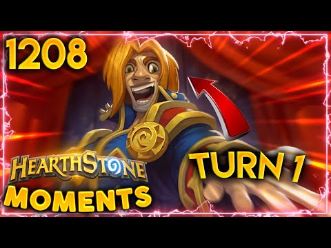 TURN 1 BARNES Is Not Fun To Play Against | Hearthstone Daily Moments Ep.1208