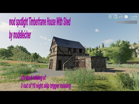 Timberframe House With Shed v1.0.0.4