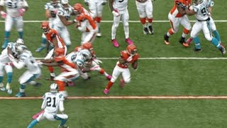 With star wide receiver A.J. Green out with a toe injury, Cincinnati Bengals running back Giovani Bernard was going to need to...