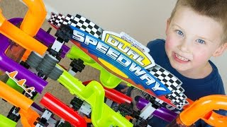Video Marble Race Toy Unboxing Marble Mania Dual Speedway Kinder Playtime MP3, 3GP, MP4, WEBM, AVI, FLV September 2018