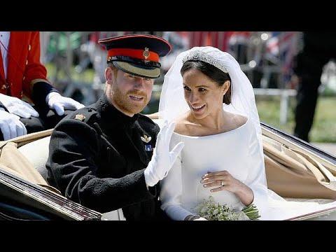 Königliche Traumhochzeit in Windsor: Meghan und Harry ...