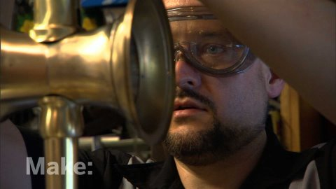 Make: television - WATCH IN HD! Jake Von Slatt invites us into the alternate universe of Steampunk. As leading figures in the Boston arts community, members of Steampunk combin...