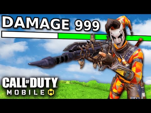 HIGHEST DAMAGE AR in COD MOBILE! | CALL OF DUTY MOBILE | SOLO VS SQUADS