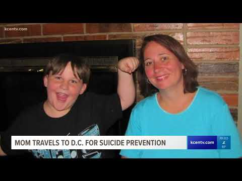 Mom travels to D.C. for suicide-prevention
