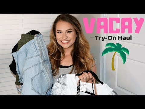 Vacay Try on Haul Spring 2018 | Old Navy, Jane.com, Apricot Lane Boutique