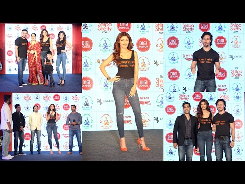 Launch Of Shilpa Shetty Wellness Series By Tiger Shroff