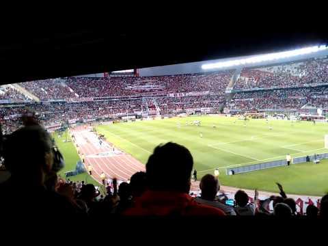 Recibimiento RIVER vs san pablo - Los Borrachos del Tablón - River Plate - Argentina - América del Sur