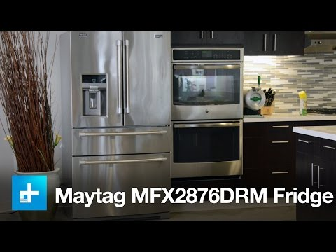Maytag MFX2876DRM French Door Fridge - Hands on